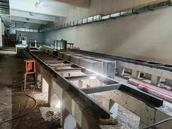 兰州污水处理厂机房防静电地板