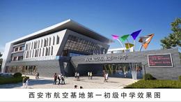 西安市阎良航空基地第一初级中学项目-小兰花陶瓷防静电地板