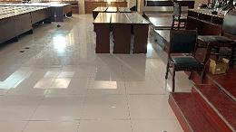 陶瓷防静电地板中填充的发泡水泥起什么作用?