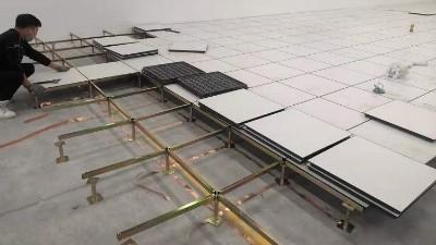 西安防静电地板施工工艺
