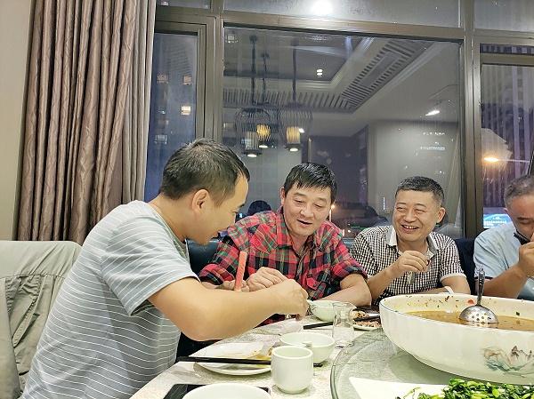 西安未来星地板有限公司员工聚餐照片1