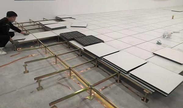 未来星防静电架空地板施工图
