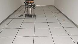 阎良学校PVC防静电地板施工疑点解决方案
