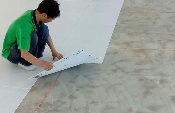 电子厂房PVC防静电地板