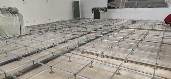 陶瓷防静电地板施工