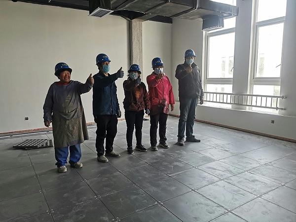 未来星网络地板施工团队