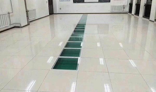 象牙白陶瓷防静电地板